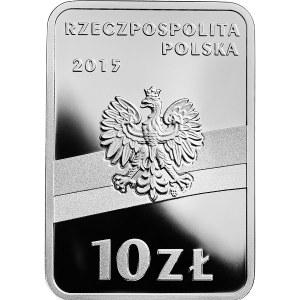 10 złotych 2015 - Józef Piłsudski