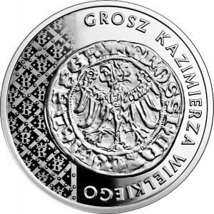 20 złotych 2015 - Grosz Kazimierza Wielkiego
