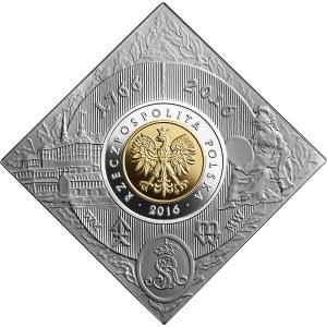 20 złotych 2016 - 250. rocznica założenia Mennicy Warszawskiej