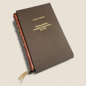 EGZEMPLARZ OKAZOWY No 000 - Eksluzywny Katalog Polskich Pieniędzy Papierowych od 1794 - Czesław Miłczak 2021