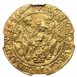 Stefan Batory (1576-1586) - Dukat 1586 - Gdańsk - NGC AU Details