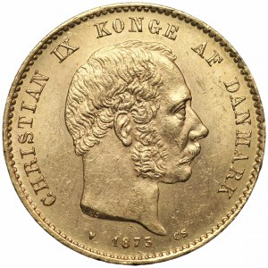 DANIA - Chrystian IX - 20 koron 1873