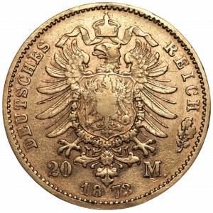 NIEMCY - Bawaria - 20 marek 1873 (D) Monachium