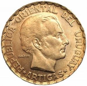 URUGWAJ - 5 pesos 1930 - 100. rocznica uchwalenia konstytucji Urugwaju