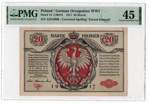 20 marek 1916 - Generał - PMG 45