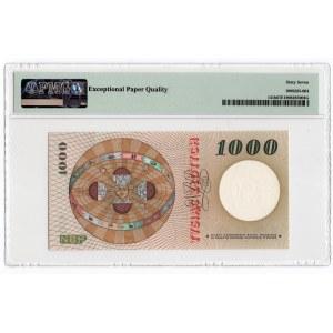 1.000 złotych 1965 - seria S - PMG 67 EPQ
