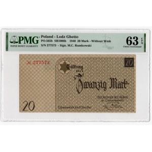 Getto w Łodzi - 20 marek 1940 - PMG 63 EPQ