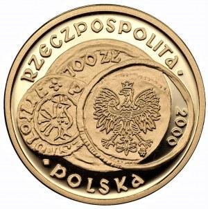 100 złotych 2000 - 1000 lecie zjazdu w Gnieźnie