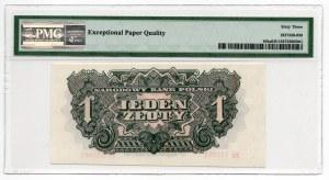1 złoty 1944 ... owym - PMG 63 EPQ