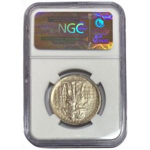 USA - 1/2 dolara 1921 - 100-lecie stanu Missouri - NGC UNC Details