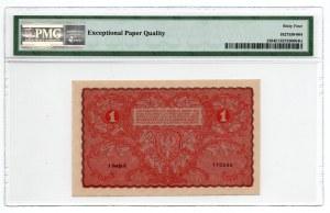 1 marka 1919, - PMG 64 EPQ