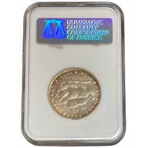 USA - 1/2 dolara 1935 - 200 rocznica urodzin - Daniel Boone - ANACS MS 64