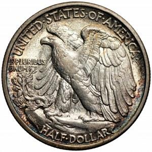 USA - 1/2 dolara 1916 - (D) Denver - Walking Liberty