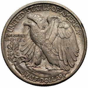 USA - 1/2 dolara 1929 - (D) Denver - Walking Liberty