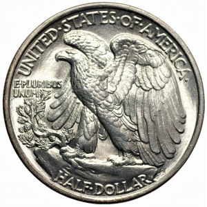 USA - 1/2 dolara 1936 - Filadelfia - Walking Liberty