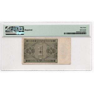 1 złoty 1938 - seria IA - PMG 53