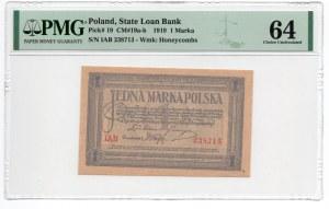 1 Marka 1919 - seria IAB - PMG 64