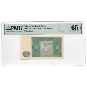 2 złote 1946 - PMG 65 EPQ