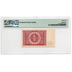 1 złoty 1946 - PMG 65 EPQ