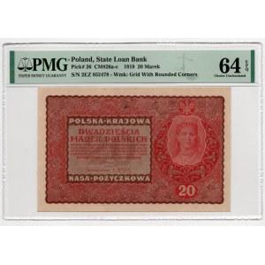 20 marek 1919, - PMG 64 EPQ