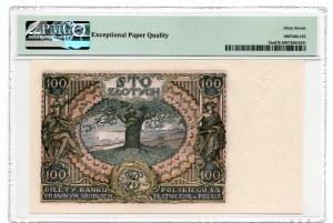100 złotych 1934 - seria BH - PMG 67 EPQ