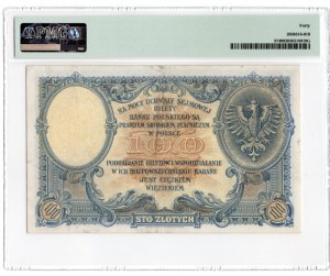 100 złotych 1919 - seria S.A. - PMG 40