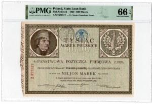1.000 marek polskich 1920 - PMG 66 EPQ