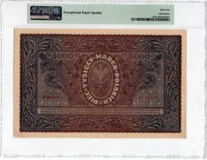 5.000 marek 1920 - III Serja Z - PMG 64 EPQ