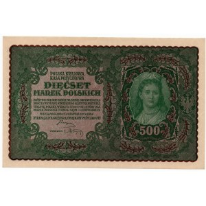 500 marek 1919 - II Serja AS - Kolekcja Lucow