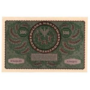 500 marek 1919 - II Serja AS