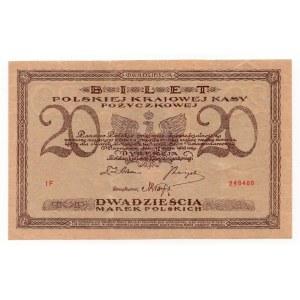 20 marek 1919 - seria IF - IKolekcja Lucow
