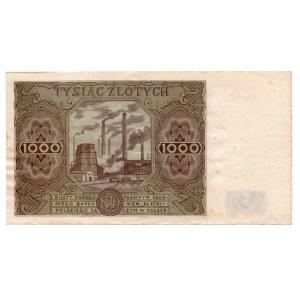 1.000 złotych 1947 - seria I - Kolekcja Lucow