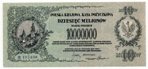 10 milionów marek 1923 - seria BO - Kolekcja Lucow