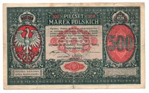 500 marek polskich 1919 Dyrekcja PKKP