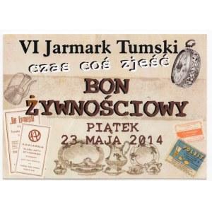 Bon Żywnościowy VI Jarmark Tumski zestaw 3 sztuki