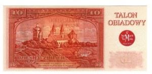 Talon obiadowy 10 złotych V Jarmark Tumski 2013r
