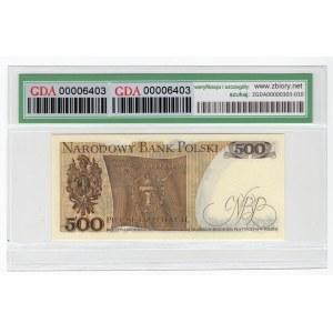 500 złotych 1974 - seria A - GDA 58