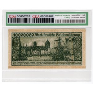 Gdańsk, 10 milionów marek 1923 - GDA 45 EPQ