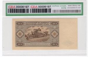 10 złotych 1948 - BB - GDA 58