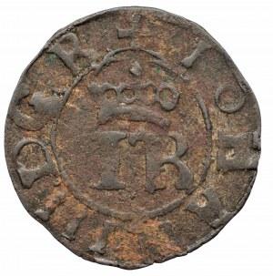 SZWECJA - szeląg miejski Jan III Waza (1568-1592), Rewal b.d.