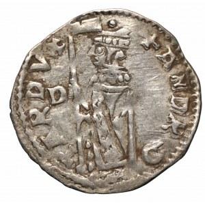 Wenecja, szeląg (soldino) Andrea Contarini 1368-1382