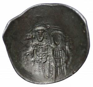 Bizancjum, billon trachy Aleksy III Angelos 1195-1203 lub bułgarskie naśladownictwo z lat 1205-1210
