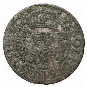 Szeląg koronny Zygmunt Waza, Malbork 1596