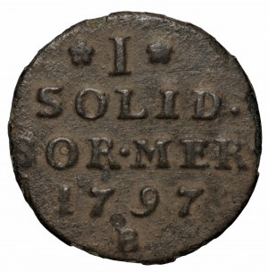 Szeląg dla Prus Południowych (i Nowowschodnich), Wrocław 1797 (zabór pruski)