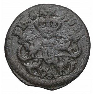 August III Sas, Szeląg koronny Gubin 1753
