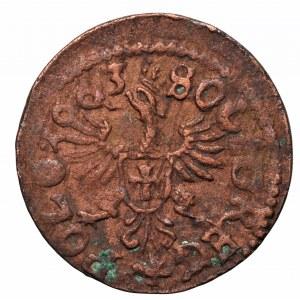Szeląg koronny Jan Kazimierz, Ujazdów 1663
