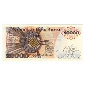 50.000 seria AC + 20.000 seria AM 1989r SET 2 sztuki