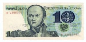 10 złotych 1982 - seria A