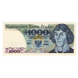 1.000 złotych 1975 - seria P