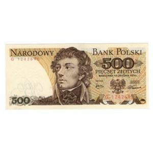500 złotych 1974 - seria G